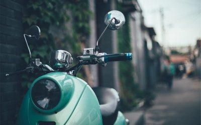 Verschillende soorten scooters in Lelystad